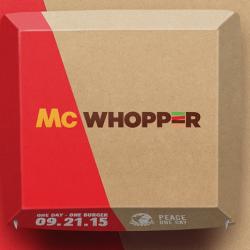 Burger King Wants McDonald's Help to Make the 'McWhopper'